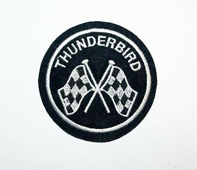 Classic Triumph Thunderbird  Embroidered Motorcycle Patch