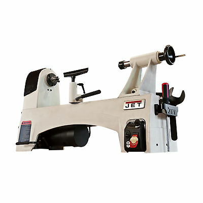 """JET 1221VS 12"""" x 21"""" Variable Speed Bench Top Woodworking Lathe (Without Stand)"""
