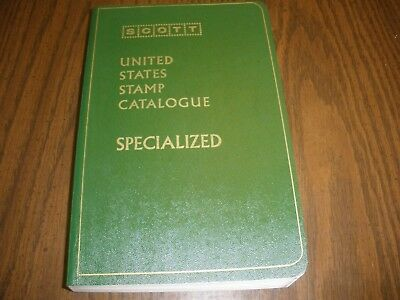 1972 United States Stamp Catalogue Specialized Scott