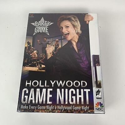 Hollywood Game Night Party Game NBC TV Trivia Celebrity Questions New Sealed