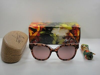8eeb3d3168ccf Maui Jim Honey Girl Polarized Rs751-09A Sunglasses Pink maui Rose Glass Lens