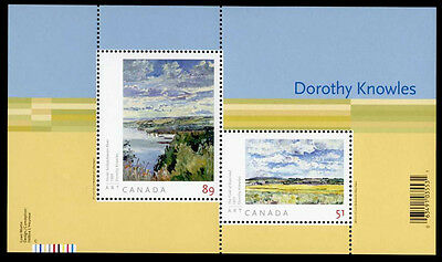 Canada 2148 MNH Art, Dorothy Knowles, Landscape