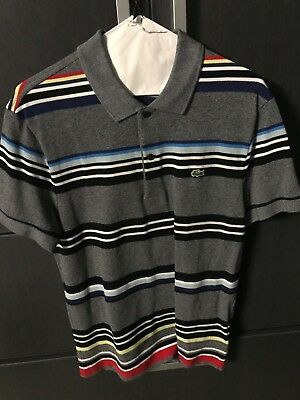 b6235b5b mens lacoste shirts grey never worn off the shelf still has tags attached