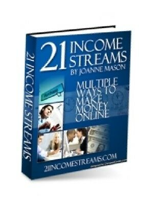 21 Income Streams - Multiple Proven Ways to Make Money Online >>>EBOOK PDF