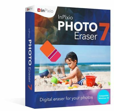 InPixio Photo Eraser 7 | Remove Unwanted Elements from Photos ⭐Digital Download⭐