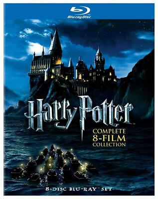 Harry Potter: The Complete 8-Film Collection [Blu-ray] [Import]