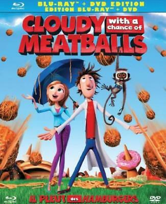 Cloudy with a Chance of Meatballs (Bilingual) [Blu-ray + DVD]