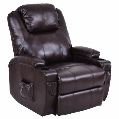 Costway Lift Chair Electric Power Recliner w/ Remote Cup Holder Living Room