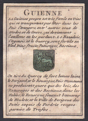 Guyenne Frankreich France carte a jouer playing card Spielkarte cards cartes