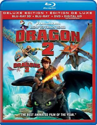How to Train Your Dragon 2 (Deluxe Edition) [Blu-ray 3D + Blu-ray + DVD +...
