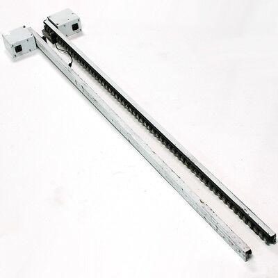 """Quickdraw 60"""" MR Open-Center Slip-Roller Fixed Mount Conveyor System no T-slot"""