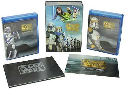 Star Wars: The Clone Wars - Complete Seasons 1-5 - (Collector's Edition)...