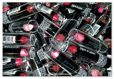 (( 50 )) Wet N Wild Silk Finish Lipstick ✦ Assorted Lot of 50 ✦ Free Shipping!!