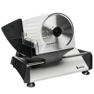 "7.5"" Electric Meat Slicer Deli Commercial Food Cheese Restaurant Cutter Blade"