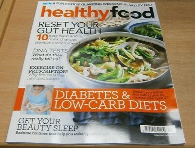 Healthy Food Guide magazine Feb 2019 Reset your Gut Health + Diabetes & Low-Carb