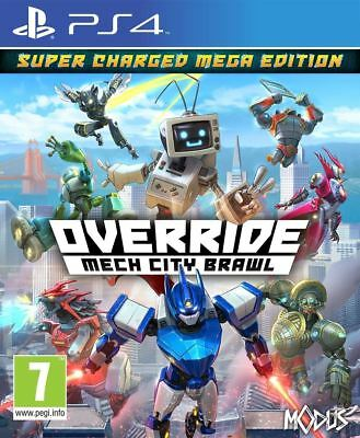 Override: Mech City Brawl Super Charged Mega Edition PS4 Brand New Sealed Game