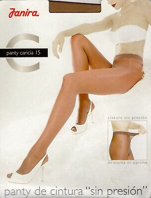 Janira Caricia 15 Denier STW Tights Pantyhose - X-Large - Beige (Cosmetic)