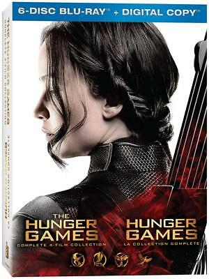 The Hunger Games Complete 4-Film Collection [ Blu-ray+ Digital Copy] (Bilingual)