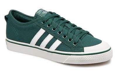buy online 88458 a115b Men s adidas originals NIZZA Low rise Trainers in Green