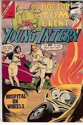 DOCTOR TOM BRENT YOUNG INTERN #1, Charlton Comics (1963)