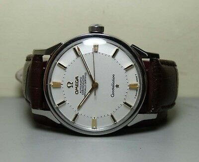 Vintage Omega Automatic constellation Date 551 Swiss Mens Watch Old H235 Antique