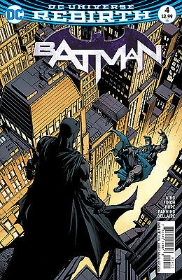 BATMAN #4, New, First print, DC REBIRTH (2016)