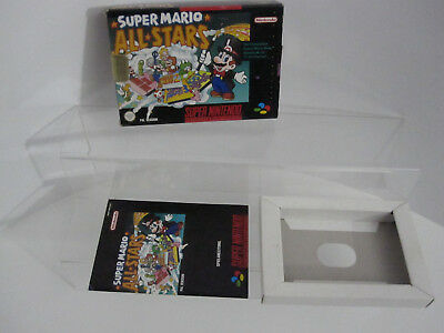 SNES Super Mario All Stars Leerverpackung - OHNE SPIEL!!!!!!