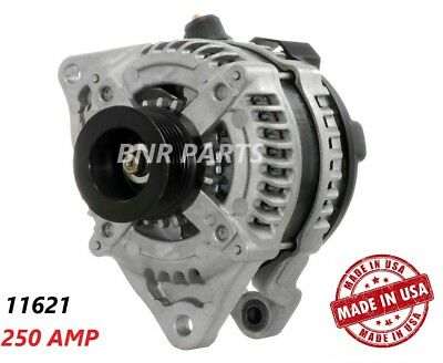 250 AMP 11621 Alternator Ford Mustang 3.7L MT High Output Performance USA HD NEW