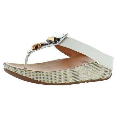 17191e85a20d99 FitFlop Jeweley Toe-Post Women s Embellished Toning Flip Flop Sandals