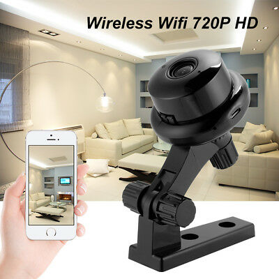 Wide-Angle Smart Home Security 720P HD 1MP Mini IP Camera Baby Monitor HS1197