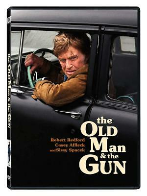 THE OLD MAN AND THE GUN DVD, USED, IN GOOD CONDITION (Region 1 DVD,US Import)