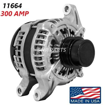 300 AMP 11664 Alternator Ford Lincoln High Output Performance NEW HD USA