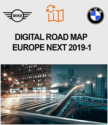 BMW Digital Road Map Update Europe NEXT 2019-1 Version Donwloadable