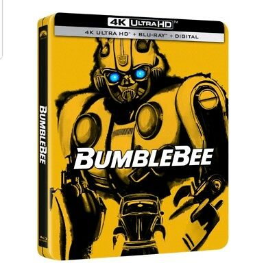 Bumblebee Steelbook Best Buy Exclusive 4K Uhd. Factory Sealed.