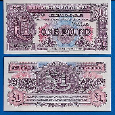 Great Britain M-22 One Pound Year ND 1948 Uncirculated Banknote