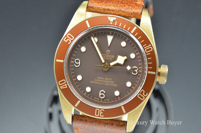 NEW Mens Tudor Heritage Black Bay Bronze Dial Automatic 43MM Watch 79250BM