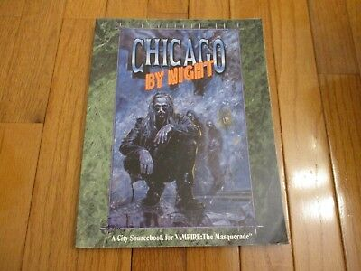 VAMPIRE THE MASQUERADE Chicago by Night 2nd Ed