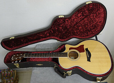 5d5e8eeec8e 2015 TAYLOR 414CE Acoustic Electric Guitar - EXC in Taylor Hard Case ...