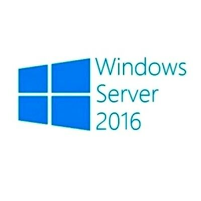 Windows Server 2016 Standard Full Retail Version License Key
