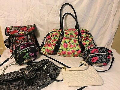 Betsey Johnson Handbags Lot 6 Bags