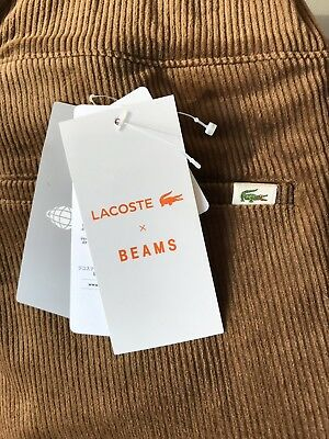 BEAMS X LACOSTE Corduroy Pants Beams Plus Oi Polloi