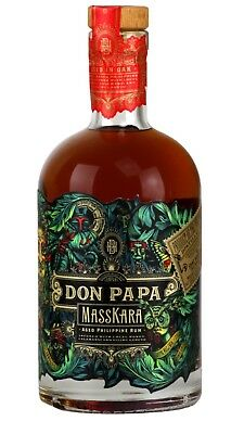 Rum Rhum Don Papa Masskara 2018 Limited Edition  Delivery Sending World 🌏🌍 甜酒