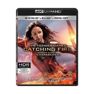 The Hunger Games: Catching Fire [4K Ultra HD + Blu-ray + Digital Copy]