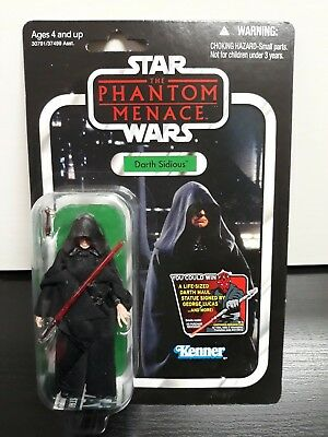 "Star Wars Figura Sidious Vintage Collection ""Nueva Y Precintada"" New Figure Vc79"