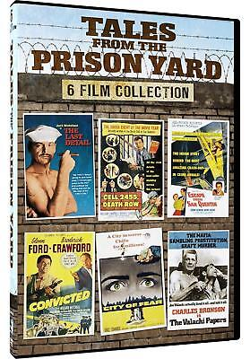 Tales From The Prison Yard - 6 Features - Convicted, Cell 2455 Death Row,...