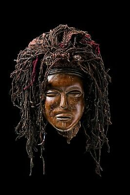 Authentic Old Chokwe Pwo African Mask, African Art