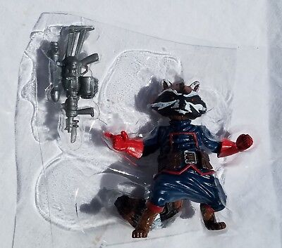 "Marvel Legends ROCKET RACCOON 3.75"" Figure From Guardians 5-Pack Unpackaged"