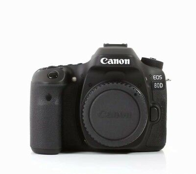 CANON EOS 80D Digital SLR Full HD Camera Body Kit Box Wi-Fi Black New SALE UK