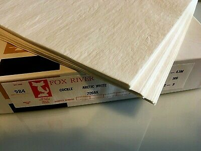 Vintage Fox River Onion Skin Paper, 12, 24, 36 or 48-Sheets
