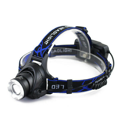 Tactical Bright 30000LM Rechargeable T6 LED Headlamp Headlight Head Lamp Torch k